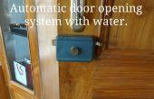 Sistema de apertura de puerta hidráulico