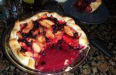 Melocotón y Berry Pie