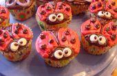 Linda mariquita Cupcakes