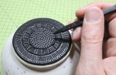 Mejorar su cerámica con Sugru (de una base a prueba de calor, antideslizante, no rasguña, decorativa)
