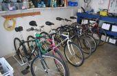 PVC soporte de bicicleta