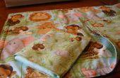 Niños arte - Baby Doll de edredón y almohada Set