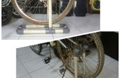 Soporte de rueda de bicicleta de PVC
