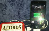 DIY Altoids USB Apple/Samsung cargador
