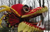 Make a chinese dragon head