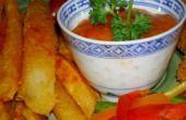 Cómo hacer patatas fritas crujientes y suaves, empanado o no