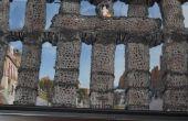 Cómo construir el acueducto romano de Segovia con hilo