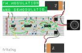FM modulación/de-modulation circuito