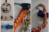 Cinturones, pulseras y más-anudar a hacer!