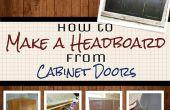 Hacer un cabecero sencillo de puertas del armario