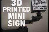 Cartel impreso tipo GoPro 3D