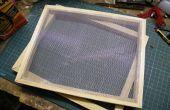 Equipo básico de fabricación de papel.