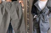Vestido DIY pantalones en gabardina