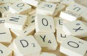 Imanes de nevera de Scrabble