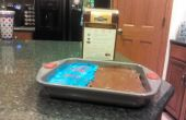 Hacer brownies helados