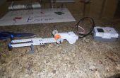 Pistola de goma de auto/semi-automaticas de NXT