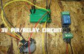Sensor de movimiento PIR 3V conducir un módulo de relé (defectuoso) 3v