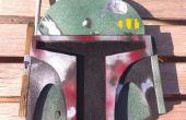 Construir una placa de pared de madera contrachapada de Star Wars Boba Fett