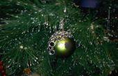 Cota de malla ornamento de la Navidad