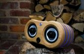 Hacer un LED iluminado altavoz Bluetooth roble