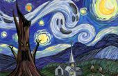 Estrellada Fright-A Post impresionista How-to