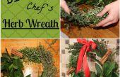 Guirnalda de hierba del Chef DIY