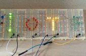 Control de una pantalla de LEDs en Jameco construir noche