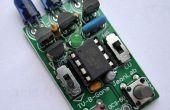 Ahorro TV-B-Gone con interruptores de selección de región/gama de la batería