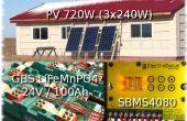 Energía solar de bajo costo OffGrid.