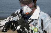 Aceite de BP derrame limpiar traje