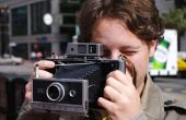 Resucitar una cámara Polaroid de tierra