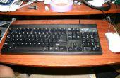 ¿Cómo limpiar un teclado sucio
