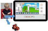 Un juego de toque para enseñar conceptos que los niños de programación