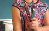Cómo hacer delineador de ojos de lápices de colores
