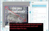 Hacer su propia etiqueta de plantilla y vinilo de LOLcat