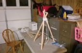 Cómo construir un trípode de supervivencia del yermo
