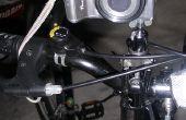 El trípode de cámara de bicicleta gratis manos