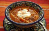 Goulash y kluski (tallarines de huevo hecho en casa)