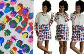 La alegría de pintar un vestido DIY
