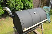 Cómo construir tu propia barbacoa barril