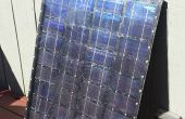 12 voltios DIY Solar Panel