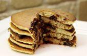 Pan de banana Pancakes (sin gluten)