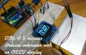 Hazlo tú mismo: 5 minutos voltímetro de Arduino con una pantalla OLED