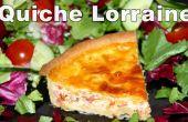 Cómo hacer Quiche Lorraine (jamón Quiche)