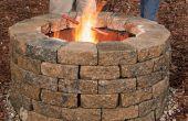 Cómo construir tu propio hoyo de fuego
