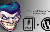 Consejos y trucos para la conversión de diseño PSD a página web de e-commerce de Wordpress