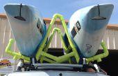 Kayak de PVC portaequipajes/portabebés