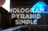 Pirámide de holograma DIY