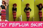 Falda Peplum DIY