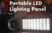 Panel de iluminación LED portátil DIY